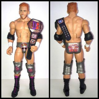 WWE Mattel Elite 17 Zack Ryder Custom Internet Title Wrestling Action