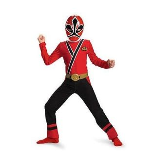 Power Rangers Red Ranger Samarai Classic Halloween Costume Toddler