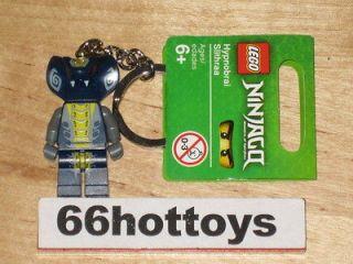 LEGO NINJAGO Keychain Hypnobrai Slithraa Lego MiniFigures NEW