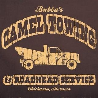 Towing Camel Toe pimp tow truck red neck T SHIRT BROWN