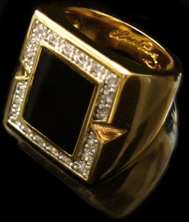 Elvis Presley   Black Onyx Ring
