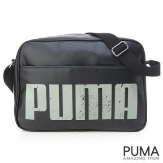 BN PUMA Originals Shoulder Messenger School Bag Black