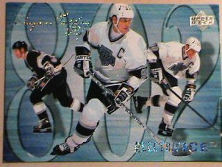 RARE 94 95 UPPER DECK WAYNE GRETZKY ELETRIC ICE RECORD  BREAKING GOAL