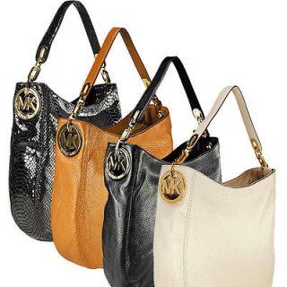new leather michael kors hobo in Handbags & Purses