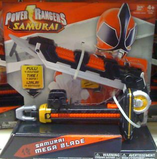 Power Rangers 2011 Samurai Mega Blade Weapon MIB NEW