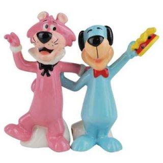 Huckleberry Hound and Snagglepuss Salt and Pepper Shakers New Westland