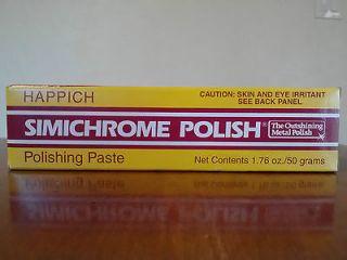 Simichrome Polish   Metal Polish   Non Toxic   1.76 oz / 50 gram Tube