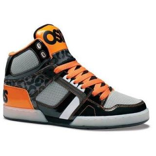 OSIRIS NYC 83 HI MENS HIGH TOPS BLACK / GREY / ORANGE £74.99