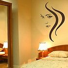 BEAUTY WOMAN HAIR SALON WALL DECAL STICKER GRAPHIC giant tattoo