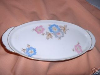 CHINA DISH STAMPED VICTORIA CZECHOSLOVAKIA 801& 181