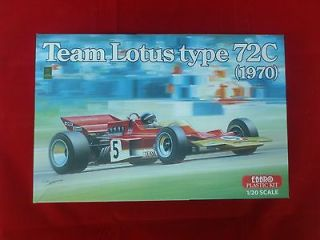 Ebbro 1/20 Lotus 72C (1970) Jochen Rindt F1 Kit with Tobacco Decals