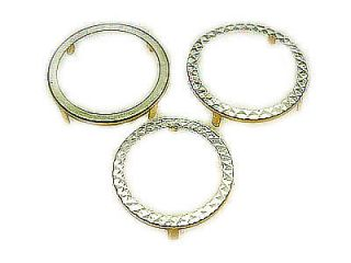 9ct Gold NEW Sovereign / half Sovereign ring mount Bezel 4 claw