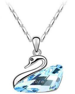 Hot Selling Noble Fashion Swarovski Crystal Penadant Necklace