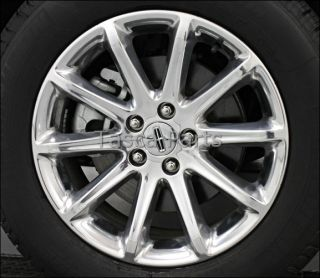 OEM 18 X 8 POLISHED ALUMINUM WHEEL 2011 2013 FORD EDGE LINCOLN MKX