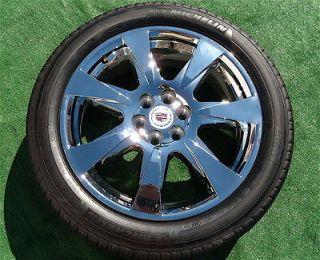 2013 Set  4 Genuine GM OEM Factory Cadillac SRX Chrome 20 inch WHEELS