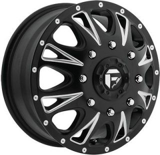 Fuel Throttle Dually Dualie black wheel rim 8x6.5 GMC C 3500 C 2500
