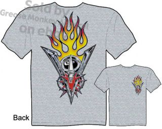 Emblem Ford V8 Logo T shirt, Tattoo Shirt Hot Rod Kustom Kulture Tee