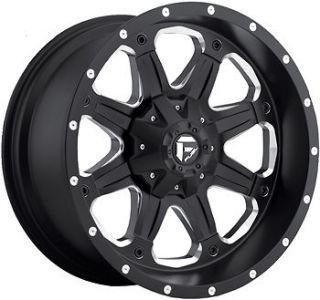 20x9 Black Fuel Boost 8x170 +1 Rims Nitto Trail Grappler 35x12.50R20LT