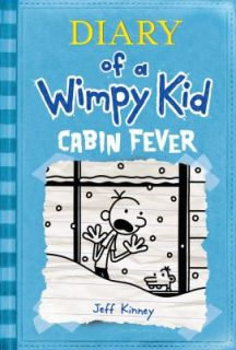 Diary of a Wimpy Kid Cabin Fever by Jeff Kinney (2011, Hardcover)