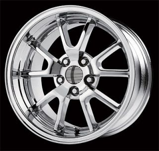 Ford Mustang FR 500 Replica Wheels Rims Staggered 18x10 1994 2004