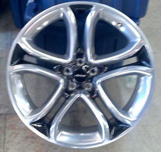Ford Edge 22 x 9 Polished with Black Center OEM Wheel BT4Z1007F