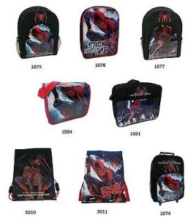 Spiderman 2 Boys Kids School Backpacks / Messenger Bag / Wheel Bag