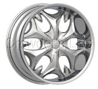 Bentchi Car Truck Wheel Rim B3 S Chrome 22 in 5 Lug
