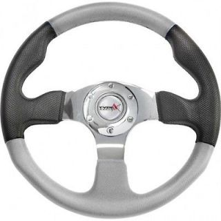 Ez go RZR POLARIS Ranger steering wheel golf cart W/ Adapter 3 spoke