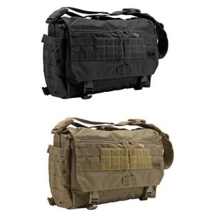 11 Tactical 56962 Rush Delivery Messenger Bag Briefcase   Black OR