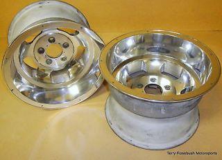 Ansen Sprints Wheels, 15x10, 4 3/4 Bolt Cir, 3 1/4 BS, NEW Show