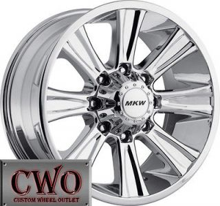 Newly listed 18 Chrome MKW M87 Wheels Rims 6x139.7 6 Lug Chevy GMC