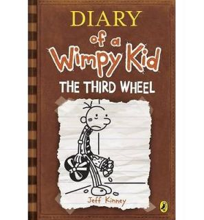 Diary of a Wimpy Kid The Third Wheel   Jeff Kinney   HARDBACK BRAND