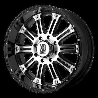 HOSS MACHINED WITH 35X12.50X18 TOYO OPEN COUNTRY MT TIRES WHEELS RIMS