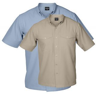 Shimano Vented Fishing Shirt   Short Sleeve