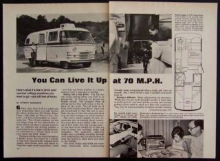 1969 Dodge 210 Travco Motor Home RV vintage Review
