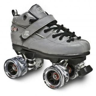New Sure Grip Grey Rock GT 50 Mens Speed Indoor Roller Skates Sizes 5