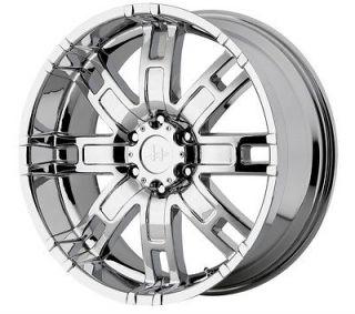 22x9.5 Helo HE835 Chrome Wheel/Rim(s) 8x165.1 8 165.1 8x6.5 22 9.5