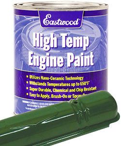 Eastwood John Deere Green High Temp Ceramic Engine Paint Quart