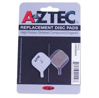 Aztec Relpacement Disc Pads for Cannondale Disc Brakes