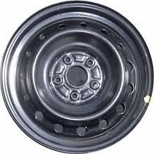 Brand New 16x6.5 black steel wheel for 2006 2011 Honda Civic Hybrid