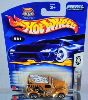 Hot Wheels Anglia Panel 2003 Blvd Buccaneers #081