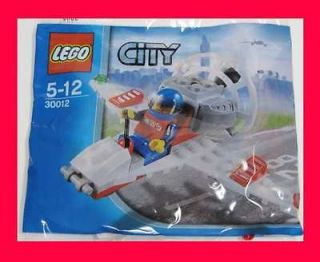 New LEGO City HOVER PLANE Airplane 34pcs #30012 Factory Sealed
