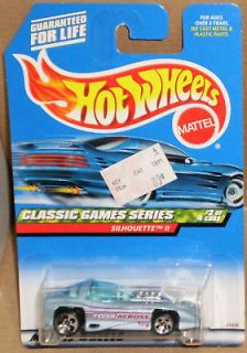 HW # 982 SILHOUETTE II Toss Across Hot Wheels Collector Classic Games