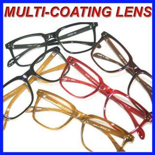 NEW BIG VINTAGE MULTI COATING LENS Reading Glasses ALL