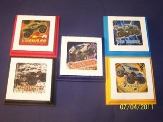 Monster Trucks Big Wheels Wall Plaques Decor bedding 5
