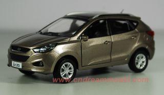 32 Hyundai IX35 2011 Die Cast Model Gold Color New