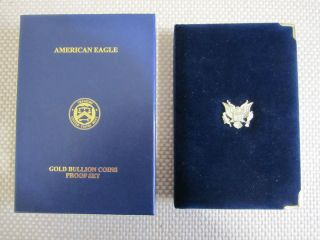 2011 American Eagle Gold Proof Four Coin Set