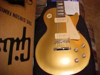 New Gibson Les Paul 1960s Sudio ribue Gold op 2011