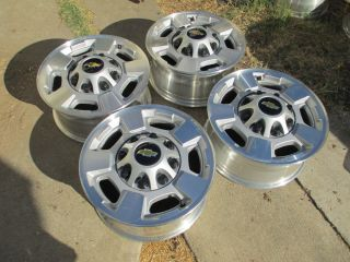 2011 2012 2013 17 CHEVY 2500 HD truck Wheels Rims OEM SILVERADO 2500HD