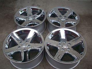 20 Dodge 1500 RAM Laramie Hemi Factory Chrome Wheels Rims 2013